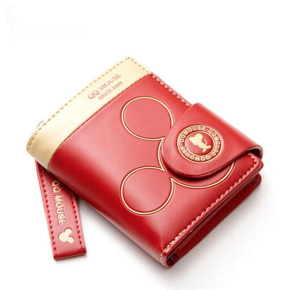 Women Small Wallet Cartoon Qq Mouse Cute Coin Purse Hasp Card Holder Purses Ebay