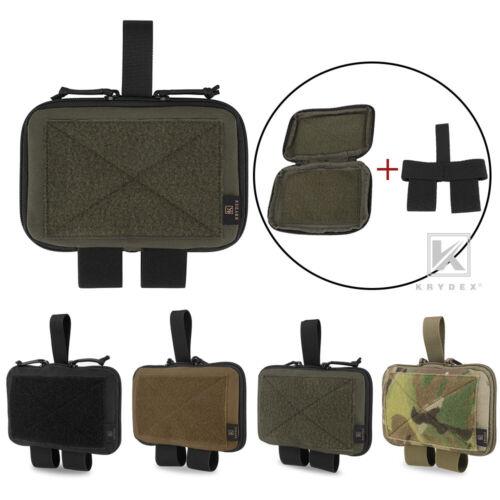 KRYDEX Tactical MED Medical Pouch EMT Trauma Kit Carrier Storage for 2 in Belt