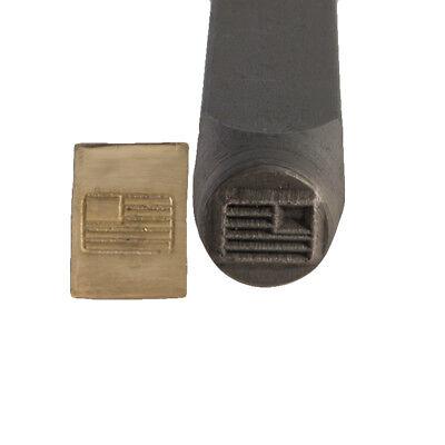 American Flag Metal Stamp 6 mm - SFC Tools - 55-605