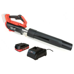 Excel 18V Cordless Garden Leaf Blower 2 Level Speed 1 x 2.0Ah Battery & Charger