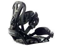 Burton Custom Bindings Black Large size 9-14