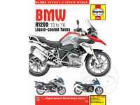 BMW R 1200 S ABS 2006-2008 Haynes Service Repair Manual 4598