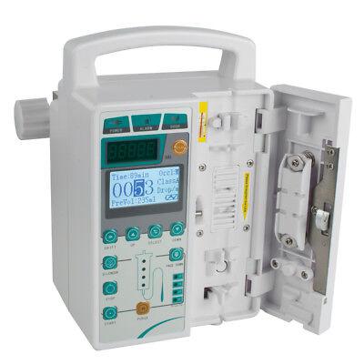 Usa Fast Human Infusion Pump Iv Fluid Lcd Alarm Patient Monitor Kvo Purge Memory