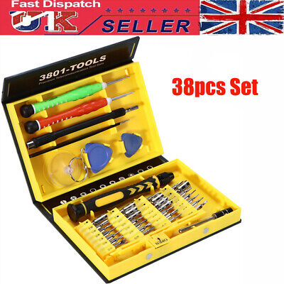 38 in 1 Repair Opening Tool Kit Screwdriver Set For Mobile Phone Laptop PC Watch