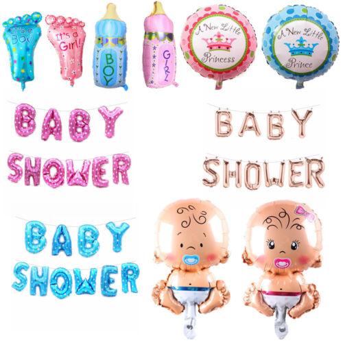 Design Baby Shower Deko Set Folienballon/Luftballon Für Girls Junge Geburt Party