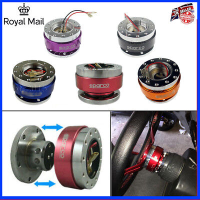 UNIVERSAL QUICK RELEASE STEERING WHEEL HUB ADAPTER BOSS KIT FOR MOMO SPARCO OMP