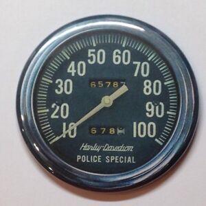 Harley Davidson Speedometer Vintage Style Fridge Magnet Buy 1 Get 1 FREE