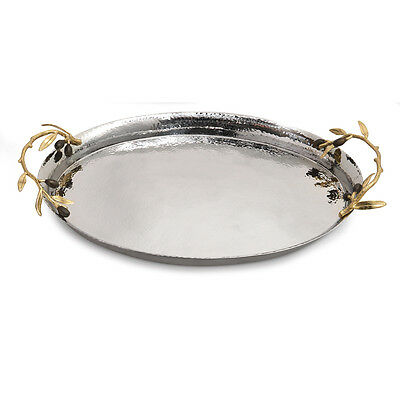 Michael Aram Olive Branch Oval Serving Tray Olive Oval Tray