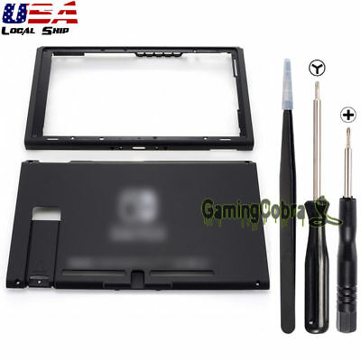Front Back Shell Housing Case Faceplate + Screwdrivers Tools for Nintendo (Front Back Faceplate)