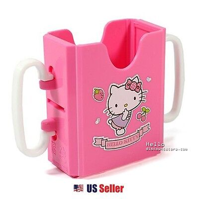 Hello Kitty Baby Kid's Small School Snack Size Beverage Drink Adjustable Holder - Hello Kitty Snacks