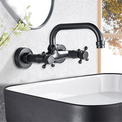 Grifería para lavabo de pared Grifos monomando de bañera Retro 2 manijas...