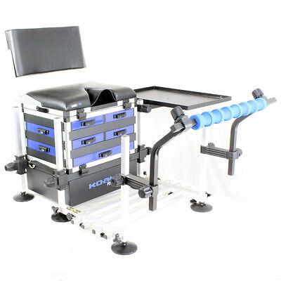 KOALA® KS7 Drawer Seat Box, Back Rest, Footplate, Spray Bar & Side Tray