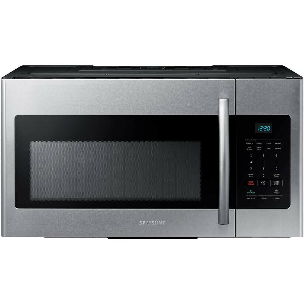 Samsung ME16H702SEB 1.6 Cu. Ft. Over-The-Range Microwave Bla