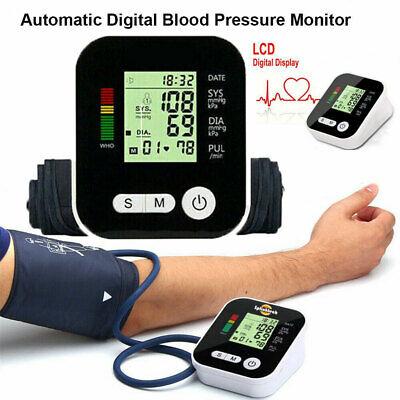 Automatic Blood Pressure Monitor Upper Arm Digital BP Machin