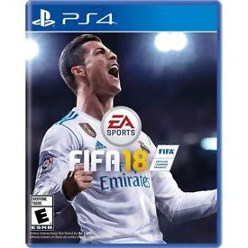 FIFA 18 Unopened brand new