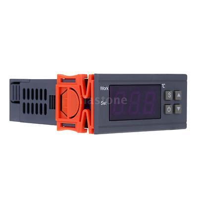 10a 110v Digital Temperature Controller Temp Sensor Thermostat 90250v Mh1210w