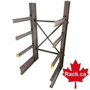 We stock and ship cantilever racks - Canada wide shipping available. Get your cantilever racking quick!
