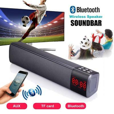 3D Sound Bar System Subwoofer Wireless Bluetooth Soundbar Home TV Speaker HiFi
