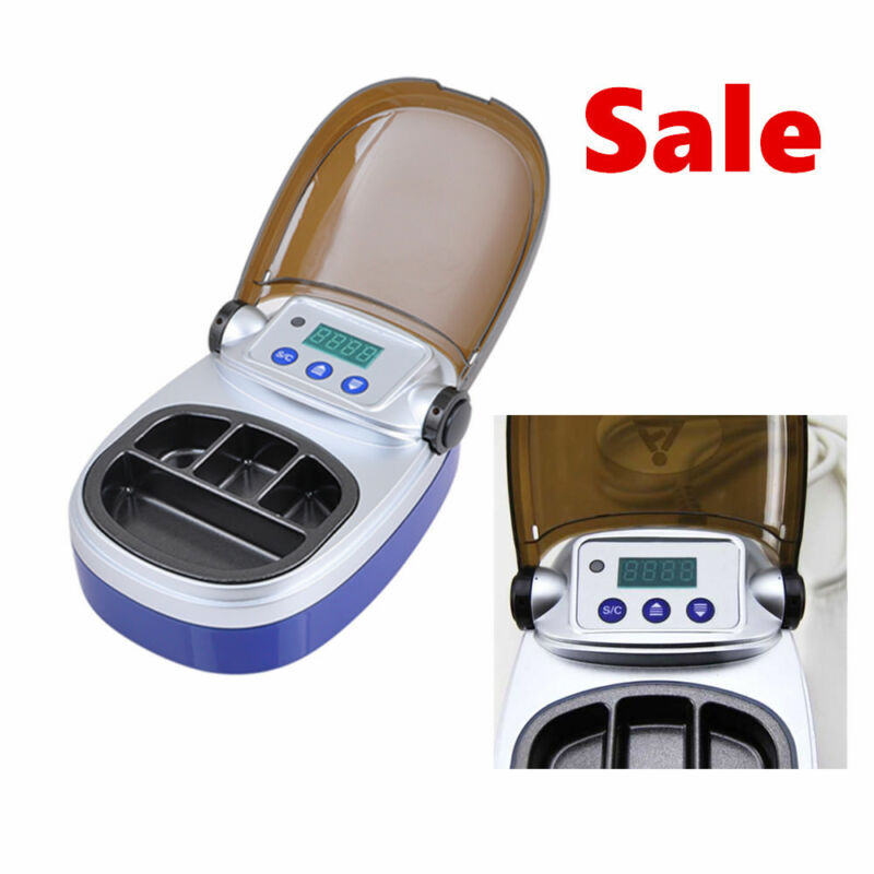 Dental Lab Equipment Analog Digital Wax Heater Pot 4well Pot f Melting