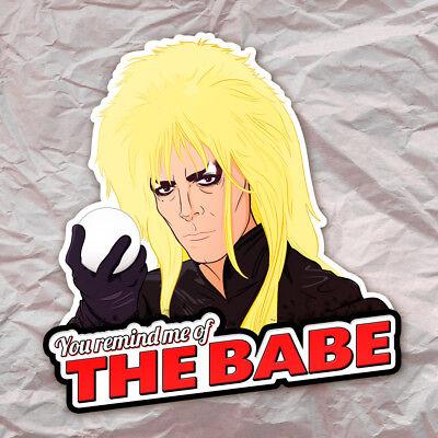 Labyrinth Jareth the Goblin King Sticker Decal David Bowie (King Labyrinth)