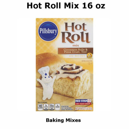 Pillsbury Specialty Mix Hot Roll 16 oz Box Pack Of 5