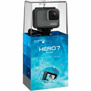 Gopro Hero7 2 Inch 4k Waterproof Action Camera Silver Chdhc 601 For Sale Online Ebay