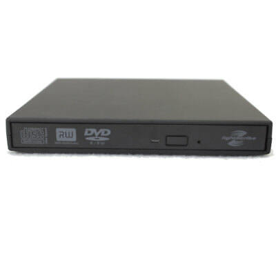 USB 2.0 LightScribe DVD-ROM CD-RW DVD-RW Burner External Drive for PC Laptop