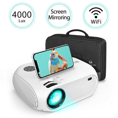 VANKYO LEISURE 450 4000 Lux Full HD 1080p Mini Projector 170'' Display Support