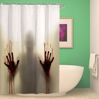 Halloween Horror Duschvorhang Blood Blut Shower Curtain Tot Mord Tatort Psycho