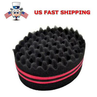 Magic Barber Twists Original Sponge Foam Hair Brush For Dread Loc Afro Coil