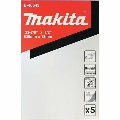 Makita B-40543 Compact Portable Band Saw Blade, 32-7/8