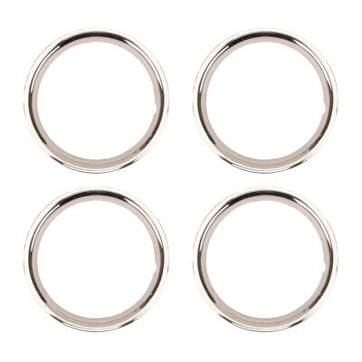 Stainless Steel Beauty Ring, 15 Inch Rally Wheel, 2 Inch - 4 PK