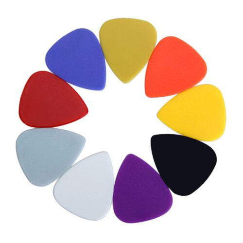 Купить Approx. 100pcs Plastic Guitar Picks Plectrums--Assorted Random Color LW
