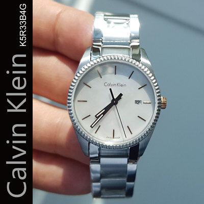 Calvin Klein K5R33B4G ALLIANCE 30mm Womens Stainless Steel Watch Swiss made