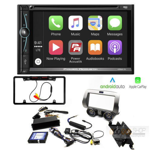 """7"""" DVD Bluetooth Car-Play Android-Auto Receiver Radio for 2010-15 Chevy Camaro"""