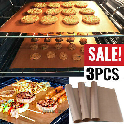 3x Bakeware Baking Paper Teflon Transfer Sheet For Heat Press Non Stick To 380