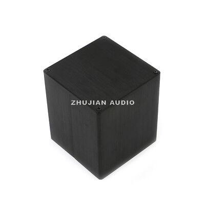 - Aluminum black 90*90*105mm Transformer cover Case Box protect cover