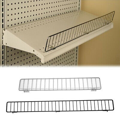 Gondola Shelf Wire Front Fence Fits Lozier Madix Shelving - 36 Or 48