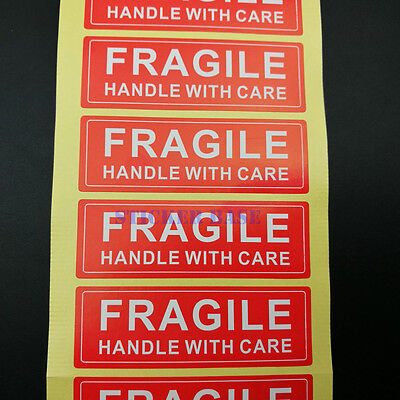 1000 1x3 Fragile Handle With Care Labelsticker - Best Price Free Shipping