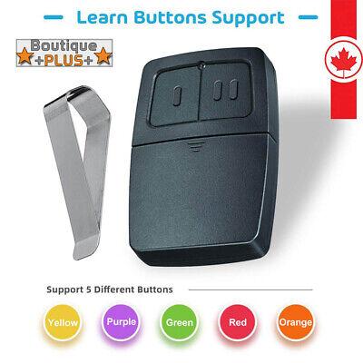 BEST Universal Garage Door Remote compatible Clicker Klik1U Universal 2-Button