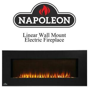 NEW Napoleon EFL42H Linear Wall Mount Electric Fireplace, 42-Inch Condtion: New