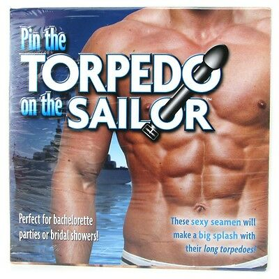 Bachelorette Party TORPEDO ON THE SAILOR - Funny Bridal Wedding Shower Game