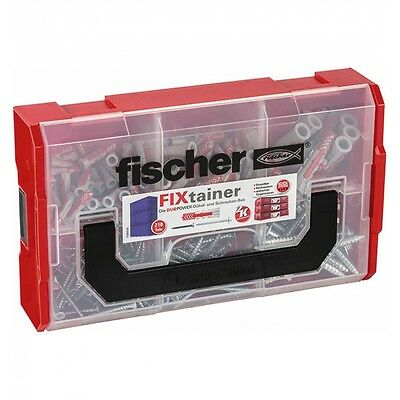 fischer 535969 Dübel FIXtainer - DUOPOWER + Schrauben Kunststoffdübel