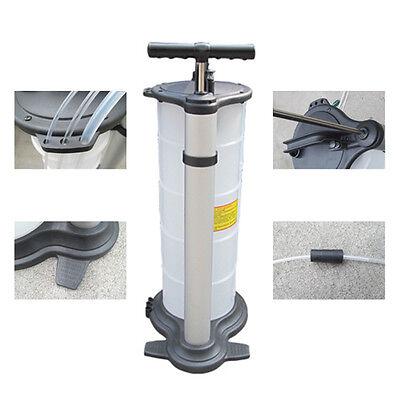 UK 9L Car Pump Engine Oil Petrol Fluid Manual Extractor Removal Transfer Vacuum