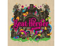 3x Beatherder tickets can be sold together or separately