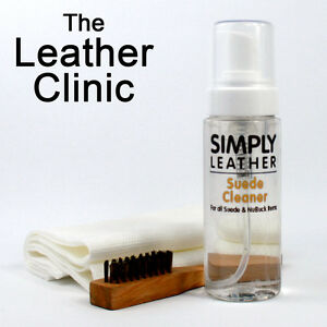 Simply Leather Suede Nubuck Cleaning Kit Inc Brush Cloth Ebay