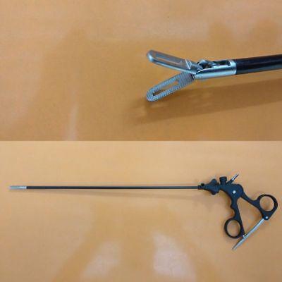 Storz Type Fenestrated Bowel Short Grasping Forceps Laparoscopy Instruments 5mm