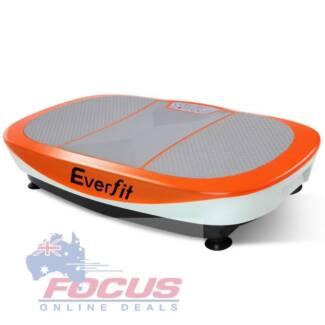 1200W Vibrating Plate Exercise Platform - Orange