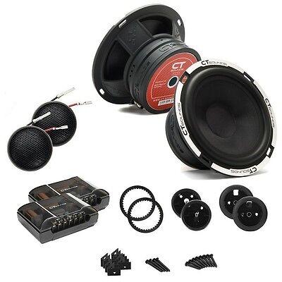 Ct Sounds Meso 6 5 Inch Full Range Car Audio Component Speaker Complete Door Set