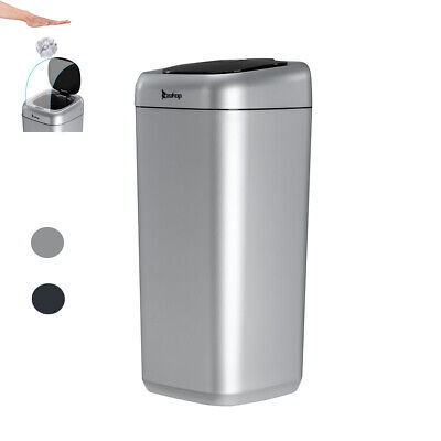 35L Automatic Trash Can Touchless Infrared Motion Sensor Garbage Bin for Kitchen